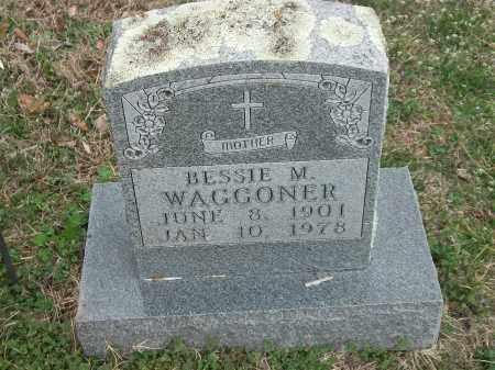 WAGGONER, BESSIE M. - Marion County, Arkansas   BESSIE M. WAGGONER - Arkansas Gravestone Photos