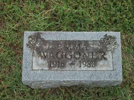 WAGGONER, EMMA - Marion County, Arkansas   EMMA WAGGONER - Arkansas Gravestone Photos
