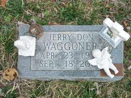 WAGGONER, JERRY DON - Marion County, Arkansas | JERRY DON WAGGONER - Arkansas Gravestone Photos