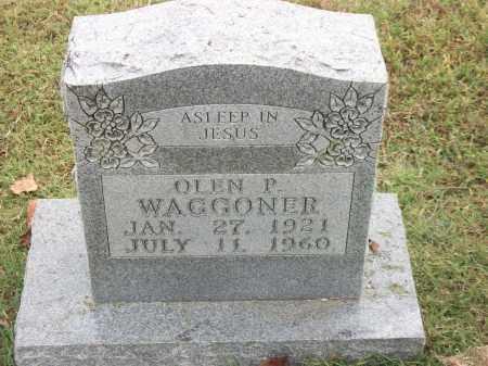 WAGGONER, OLEN P. - Marion County, Arkansas | OLEN P. WAGGONER - Arkansas Gravestone Photos