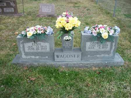 WAGONER, ELSIE - Marion County, Arkansas   ELSIE WAGONER - Arkansas Gravestone Photos