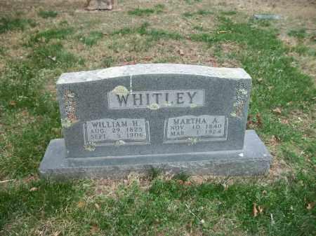 WHITLEY, WILLIAM H. - Marion County, Arkansas | WILLIAM H. WHITLEY - Arkansas Gravestone Photos