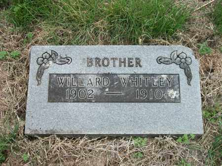 WHITLEY, WILLARD - Marion County, Arkansas   WILLARD WHITLEY - Arkansas Gravestone Photos