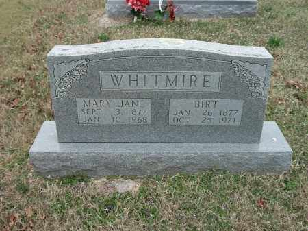 WHITMIRE, BIRT - Marion County, Arkansas | BIRT WHITMIRE - Arkansas Gravestone Photos