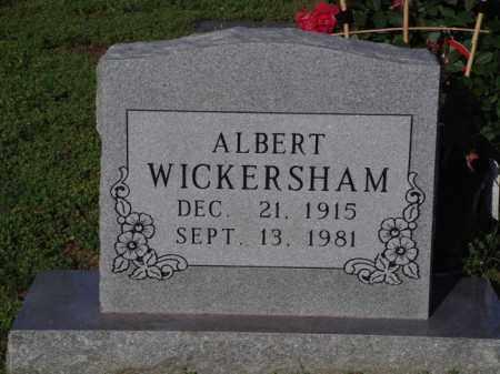 WICKERSHAM, ALBERT - Marion County, Arkansas   ALBERT WICKERSHAM - Arkansas Gravestone Photos