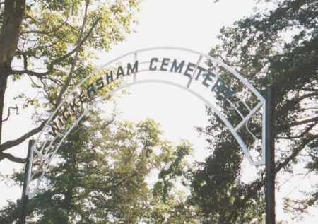 *WICKERSHAM CEMETERY SIGN, . - Marion County, Arkansas | . *WICKERSHAM CEMETERY SIGN - Arkansas Gravestone Photos