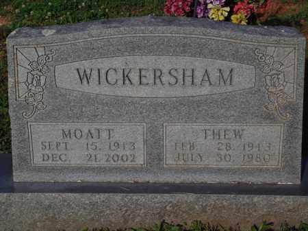 WICKERSHAM, THEW - Marion County, Arkansas | THEW WICKERSHAM - Arkansas Gravestone Photos