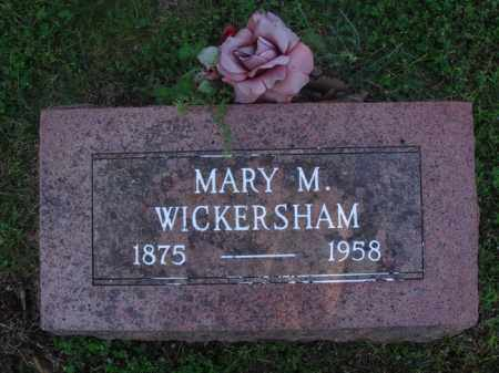 "WICKERSHAM, MARY MAGDELENE ""MOLLIE"" - Marion County, Arkansas | MARY MAGDELENE ""MOLLIE"" WICKERSHAM - Arkansas Gravestone Photos"