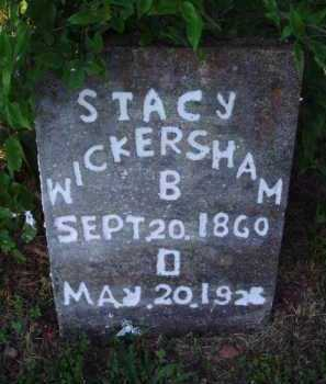 WICKERSHAM, STACY - Marion County, Arkansas | STACY WICKERSHAM - Arkansas Gravestone Photos