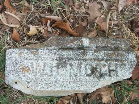 WILMOTH, UNKNOWN - Marion County, Arkansas | UNKNOWN WILMOTH - Arkansas Gravestone Photos