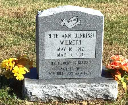 JENKINS WILMOTH, RUTH ANN - Marion County, Arkansas | RUTH ANN JENKINS WILMOTH - Arkansas Gravestone Photos
