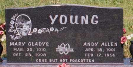 YOUNG, MARY GLADYS - Marion County, Arkansas | MARY GLADYS YOUNG - Arkansas Gravestone Photos