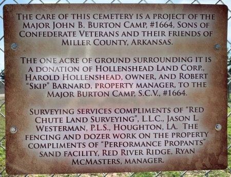 *CEMETERY INFORMATION,  - Miller County, Arkansas |  *CEMETERY INFORMATION - Arkansas Gravestone Photos