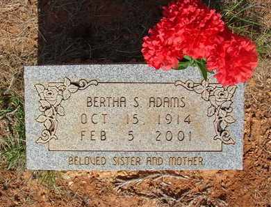 ADAMS, BERTHA S - Miller County, Arkansas | BERTHA S ADAMS - Arkansas Gravestone Photos