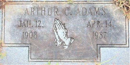 ADAMS, ARTHUR C - Miller County, Arkansas   ARTHUR C ADAMS - Arkansas Gravestone Photos