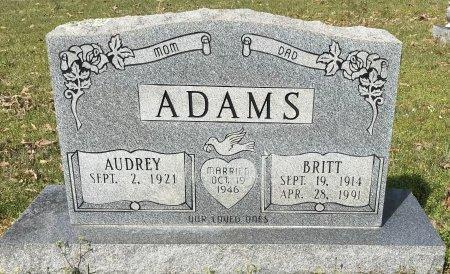 ADAMS, AUDREY - Miller County, Arkansas | AUDREY ADAMS - Arkansas Gravestone Photos