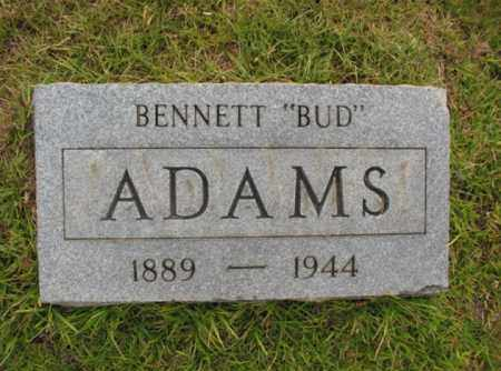 "ADAMS, BENNETT ""BUD"" - Miller County, Arkansas 