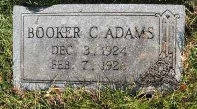 ADAMS, BOOKER C - Miller County, Arkansas | BOOKER C ADAMS - Arkansas Gravestone Photos