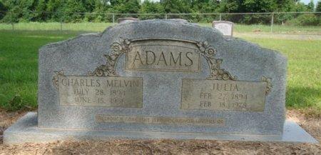ADAMS, JULIA - Miller County, Arkansas   JULIA ADAMS - Arkansas Gravestone Photos