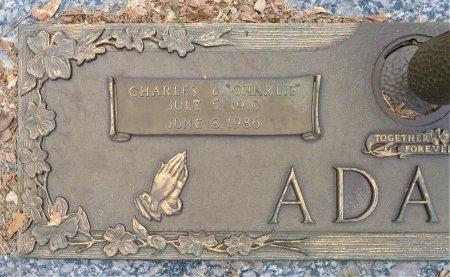 ADAMS, CHARLES L. (CLOSEUP) - Miller County, Arkansas   CHARLES L. (CLOSEUP) ADAMS - Arkansas Gravestone Photos