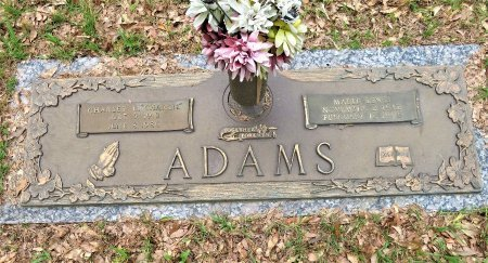 ADAMS, CHARLES L. - Miller County, Arkansas | CHARLES L. ADAMS - Arkansas Gravestone Photos