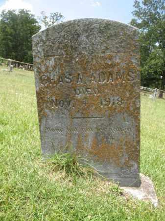 ADAMS, CHARLES A. - Miller County, Arkansas   CHARLES A. ADAMS - Arkansas Gravestone Photos