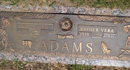 ADAMS, WILLIAM B. - Miller County, Arkansas   WILLIAM B. ADAMS - Arkansas Gravestone Photos