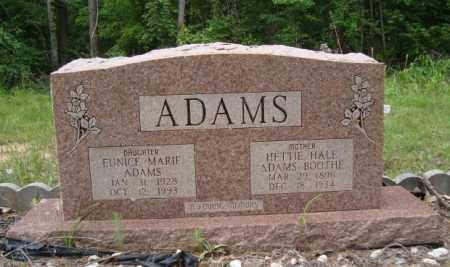 ADAMS, HETTIE - Miller County, Arkansas | HETTIE ADAMS - Arkansas Gravestone Photos