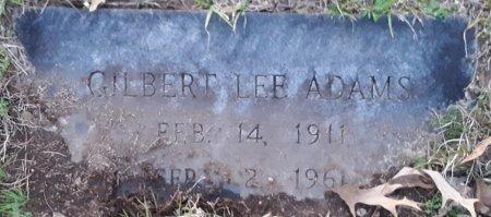 ADAMS, GILBERT LEE - Miller County, Arkansas | GILBERT LEE ADAMS - Arkansas Gravestone Photos