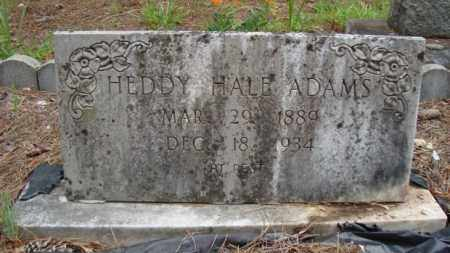 ADAMS, HEDDY - Miller County, Arkansas | HEDDY ADAMS - Arkansas Gravestone Photos