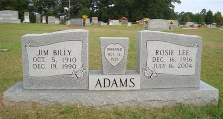 ADAMS, ROSIE LEE - Miller County, Arkansas | ROSIE LEE ADAMS - Arkansas Gravestone Photos