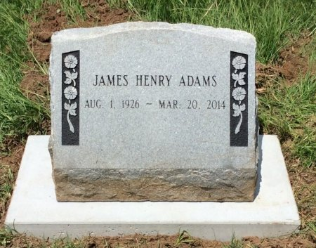 ADAMS, JAMES HENRY - Miller County, Arkansas | JAMES HENRY ADAMS - Arkansas Gravestone Photos