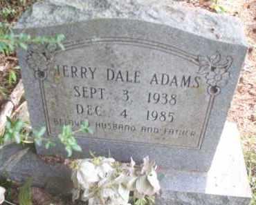 ADAMS, JERRY DALE - Miller County, Arkansas | JERRY DALE ADAMS - Arkansas Gravestone Photos