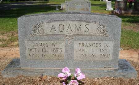 ADAMS, JAMES W - Miller County, Arkansas | JAMES W ADAMS - Arkansas Gravestone Photos