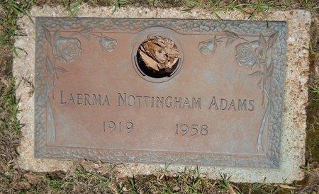 ADAMS, LAERMA - Miller County, Arkansas | LAERMA ADAMS - Arkansas Gravestone Photos