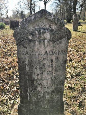 ADAMS, MARY A - Miller County, Arkansas   MARY A ADAMS - Arkansas Gravestone Photos