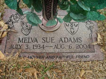 ADAMS, MELVA SUE - Miller County, Arkansas   MELVA SUE ADAMS - Arkansas Gravestone Photos