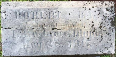 ADAMS, ROBERT RAY (CLOSEUP) - Miller County, Arkansas   ROBERT RAY (CLOSEUP) ADAMS - Arkansas Gravestone Photos