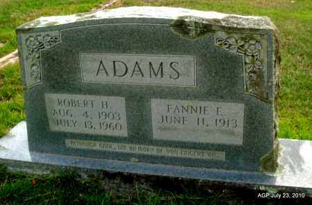 ADAMS, ROBERT H - Miller County, Arkansas | ROBERT H ADAMS - Arkansas Gravestone Photos