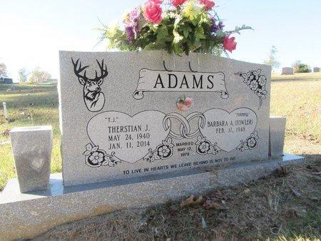 ADAMS, THERSTIAN J   - Miller County, Arkansas | THERSTIAN J   ADAMS - Arkansas Gravestone Photos