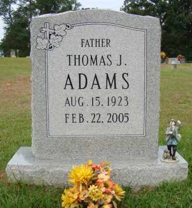 ADAMS, THOMAS J - Miller County, Arkansas | THOMAS J ADAMS - Arkansas Gravestone Photos