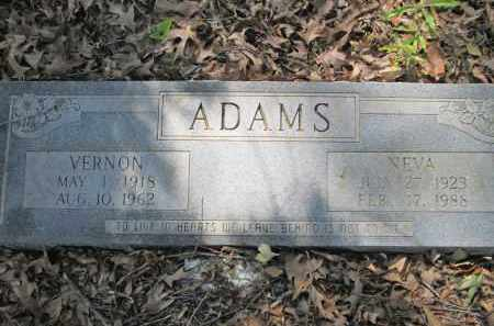 ADAMS, VERNON - Miller County, Arkansas | VERNON ADAMS - Arkansas Gravestone Photos