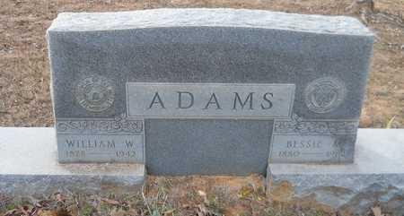 ADAMS, BESSIE - Miller County, Arkansas   BESSIE ADAMS - Arkansas Gravestone Photos