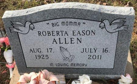 EASON ALLEN, ROBERTA  - Miller County, Arkansas   ROBERTA  EASON ALLEN - Arkansas Gravestone Photos