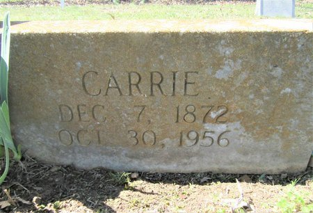 "AMIE, CORNELIA ""CARRIE"" (CLOSE UP) - Miller County, Arkansas 