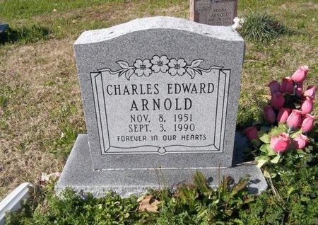 ARNOLD, CHARLES EDWARD - Miller County, Arkansas | CHARLES EDWARD ARNOLD - Arkansas Gravestone Photos