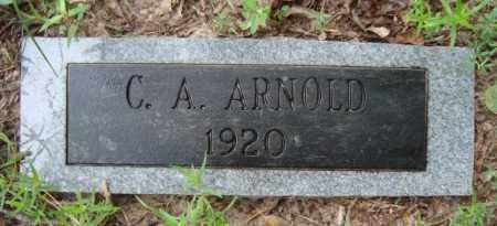 ARNOLD, C. A. - Miller County, Arkansas | C. A. ARNOLD - Arkansas Gravestone Photos