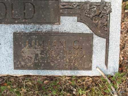 ARNOLD, LILLIAN (CLOSEUP) - Miller County, Arkansas | LILLIAN (CLOSEUP) ARNOLD - Arkansas Gravestone Photos