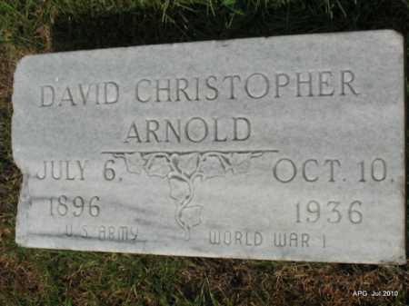ARNOLD, DAVID CHRISTOPHER - Miller County, Arkansas | DAVID CHRISTOPHER ARNOLD - Arkansas Gravestone Photos