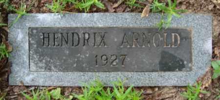 ARNOLD, HENDRIX - Miller County, Arkansas | HENDRIX ARNOLD - Arkansas Gravestone Photos